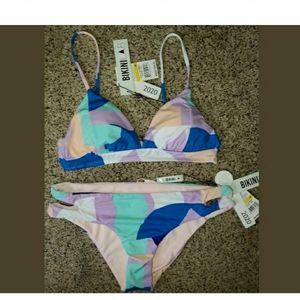 Bikini Lab Padded 2 pc Swimsuit Size M